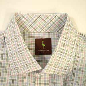 🆕 Tailorbyrd Men's Large Dress Shirt